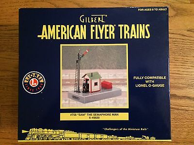 American Flyer by Lionel 49820  # 758 Sam the Semaphore Man New in Box!