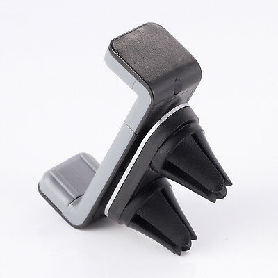 360°Car Air Vent Mount Cradle Holder Stand 2Clip for Mobile Smart Cell Phone GPS