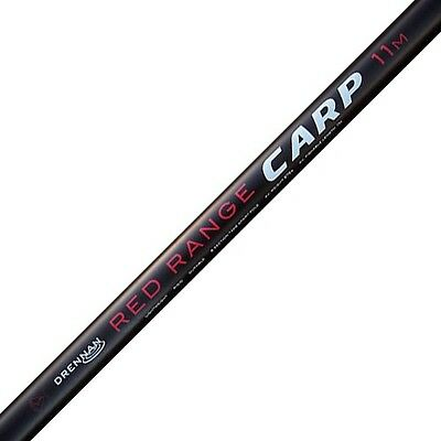 NEW Drennan Red Range 11m Carp Fishing Pole - PTRRC110