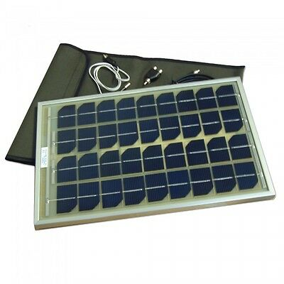 NEW Angling Technics Solar Panel - Charges All Carp Fishing Bait Boats