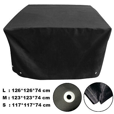 Waterproof Patio Furniture Rain Cover 5 Sizes Cube Set Cover Outdoor Garden Snow