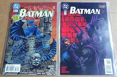 DC COMICS LOT OF 2 x NEW/UNREAD HIGH GRADE BATMAN COMICS;  #532  & #533