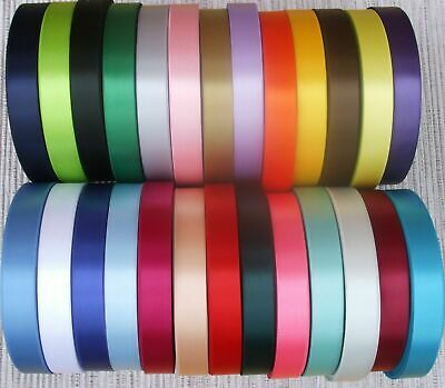 15mm  APPROX ½ INCH SINGLE SATIN RIBBON SINGLE SIDED WEDDING BIRTHDAY CAKE BOARD