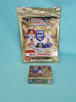 Panini Adrenalyn XL FIFA 365 2017 Mega Starterpack + 1 x Display Trading Cards
