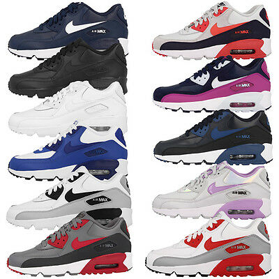 Nike Air Max 90 Leather GS Schuhe Freizeit Sneaker Skyline Command BW 1 95 97