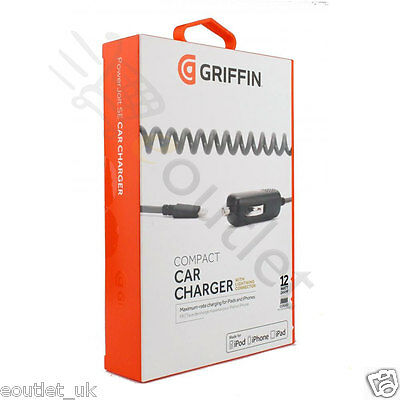 Genuine Griffin Powerjolt Lightning Se In Car Charger Iphone 5 5S 6 7 Plus
