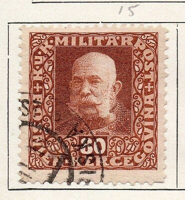 Bosnia Herzegovina 1916-17 Early Issue Fine Used 80h. 089462