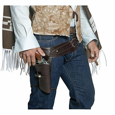 Wild West - Gun Holster & Belt - Adult