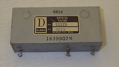 Damon 1217B Crystal Filter 1639907K