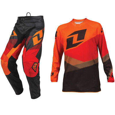 ONE INDUSTRIES YOUTH ATOM MOTOCROSS MX KIT SHIFTER ORANGE RED pants jersey