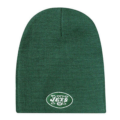 New York Jets Knit Non-Cuffed NFL Beanie - Green