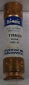 Ferraz Shawmut Tr60R/hy10Pj600 60 Amp Dual Element Time Delay Fuse 250 Volts
