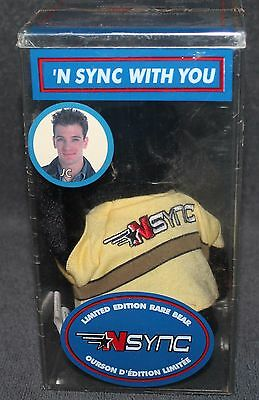 NSYNC Limited Edition Collectible Rare Bear JC in Sealed Box Year 2000