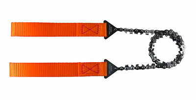Outdoor Nordic Pocket Saw - Light Weight Swedish Manual Chainsaw - Orange