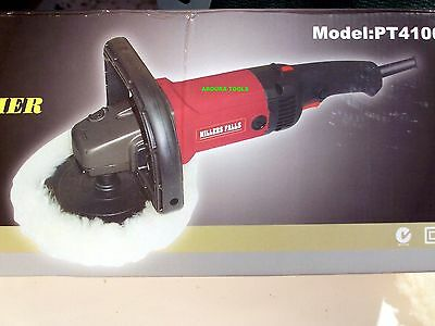 "POLISHER & SANDER - ELECTRIC 240V -180mm( 7"" ) PAD WITH WOOL BUFF - NEW."