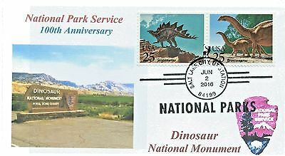 DINOSAUR NATIONAL MONUMENT Utah Color Photo National Parks 100th Pictorial PM