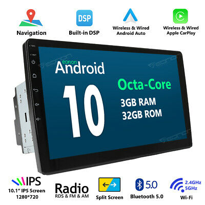 "Eonon Android 5.1 Double Din 6.2"" Car Stereo DVD Player GPS Navigation BT DAB+ E"