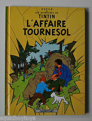 TINTIN: L'Affaire Tournesol BD MINI Comic Book HERGE Casterman