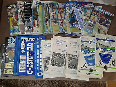 Chesterfield HOME programmes 1970's