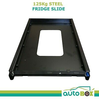 4WD Heavy Duty Fridge Slide Unit for Mid Size Waeco Evacool Engel Camper 125Kg
