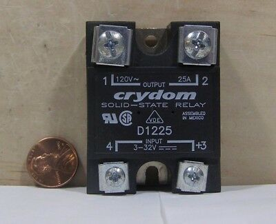 Crydom Solid-State Relay Model D1225