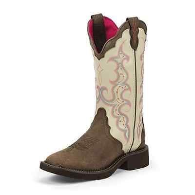 "L2919 Justin Women's Barnwood Brown Gypsy Boot 12"" NEW"