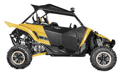 Blingstar Black Hybrid Pro Doors For Yamaha YXZ 1000 R UTV-7001-TXT