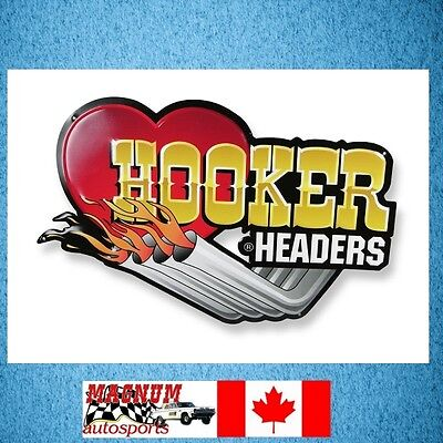 Hooker 10145HKR tin metal sign