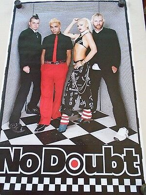 No Doubt / Gwen Stefani / Orig. Group Poster #6229 / Exc. new cond.- 22 x 34""
