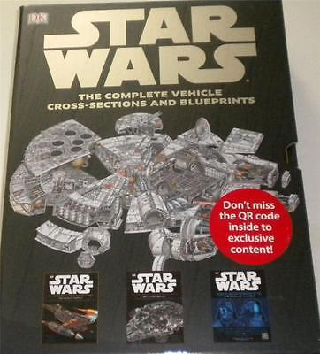 Star Wars Complete Vehicle Cross Sections & Blueprints 3 Books Prequel Classic