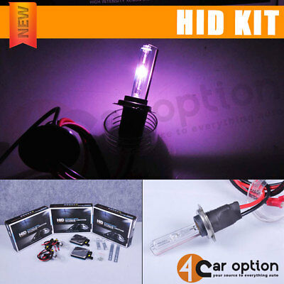 Fits H7 Purple 35W Low Beam Xenon HID Conversion Kit Ballast In Pair
