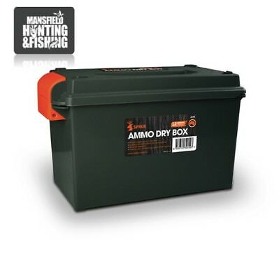Spika Ammo Dry Box with Lock and Key, Ammunition Storage, ADB, Ammunition Box