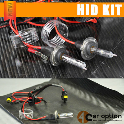 Fits 3000K H7 Blue 35W Low Beam Xenon HID Conversion Kit Golden Yellow