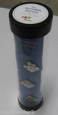 EBAY 10 Year Time Capsule - Incredible Journey 1995 - 2005 Collectable Pins
