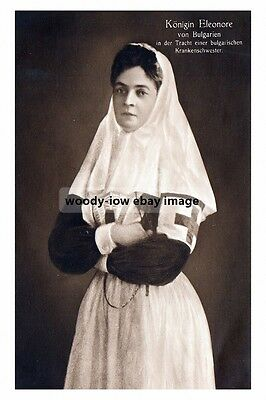 mm950 - Queen Eleonore of Bulgaria as Red Cross Nurse - Royalty photo 6x4
