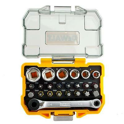 Dewalt Dt71516-Qz Screwdriver Bit And Socket Set Colour Coded