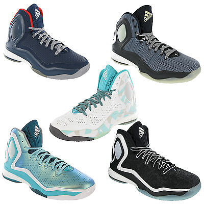 Adidas D Rose 5 Boost Basketball Mens Trainers Derrick Shoes Boots UK6.5-12.5