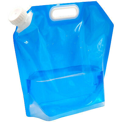 TRIXES 5 Litre Collapsible Camping Travel Water Container Bag