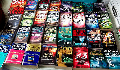 36 Heather Graham Harrison Investigations Krewe of Hunters books The Silenced