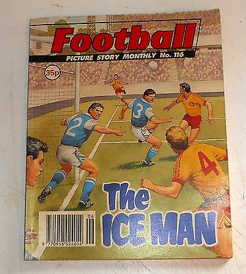 #116 Football Picture Library Comics - THE ICE MAN - 1991