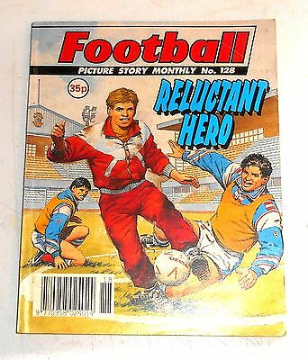 #128 Football Picture Library Comics - RELUCTANT HERO - 1991