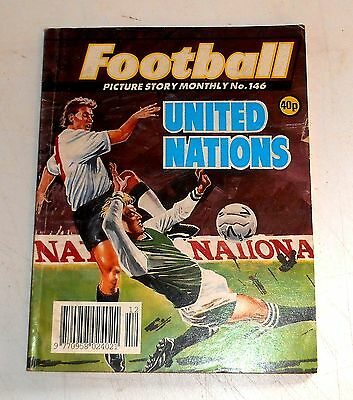 #146 Football Picture Library Comics - UNITED NATIONS - 1992