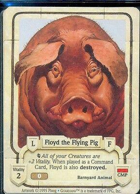 Guardians Ccg Floyd The Flying Pig Vo Uncommon