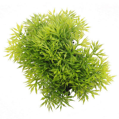 Artificielle Aquatique Green Grass Plante Aquarium Lawn Poisson PaysageRéservoir