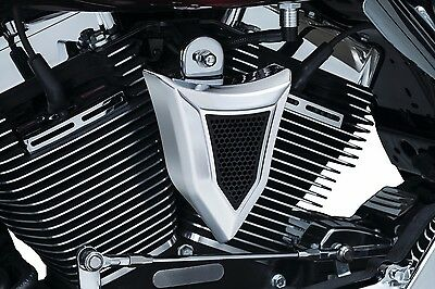 Kuryakyn Chrome Krusader Chrome Cowbell Horn Cover Accent Harley Touring Softail