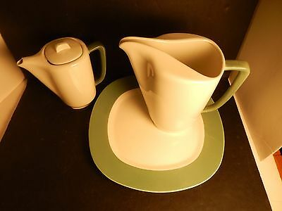 Taylor Smith Taylor Conversation Walter Dorwin Teague Water Pitcher, Chop Plate