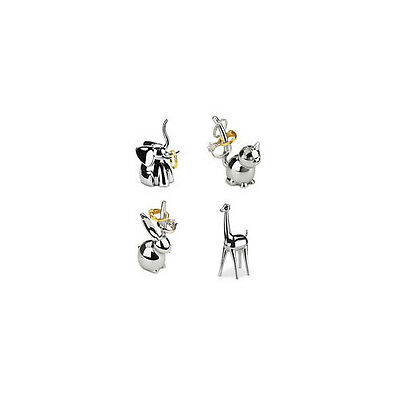 Umbra ZOOLA RING CHROME HOLDER choice bunny,cat,giraffe,elephant,monkey