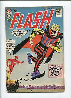 1960 The Flash #113 (5.0) Danger In The Air!