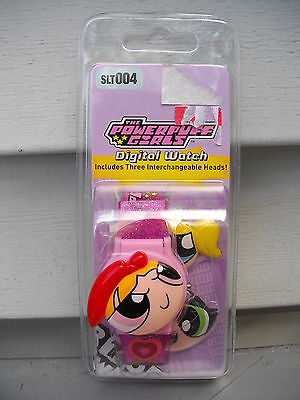 The Power Puff Girls Digital Watch With Interchangeable Heads
