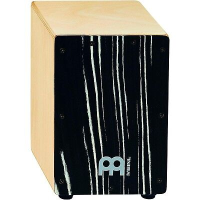 Meinl Mini Cajon with Birch Body Striped Onyx